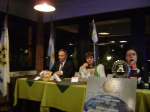Parodi, Bullrich, Saa Avellaneda, Pte. del Rotary Club de Vicente López