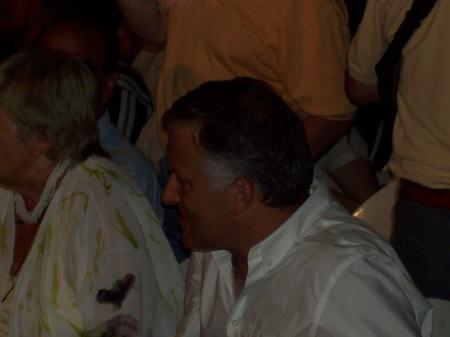 El Lic. Luis Parodi en 1ra fila