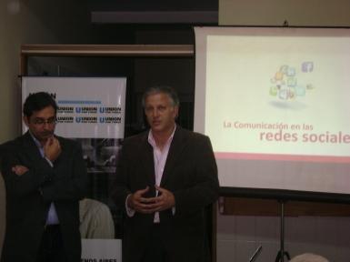de izq, a der.: José Luis Patiño y Luis Parodi